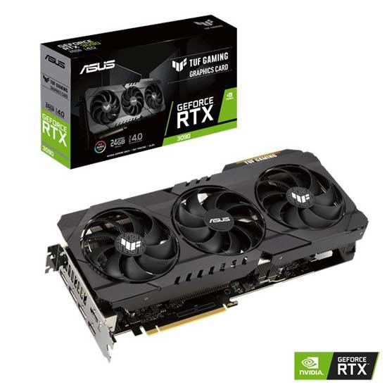 ASUS GeForce RTX 3090 24GB PCI-E 4.0 TUF GAMING OC купить в LegionPC, лучшая цена в Москве