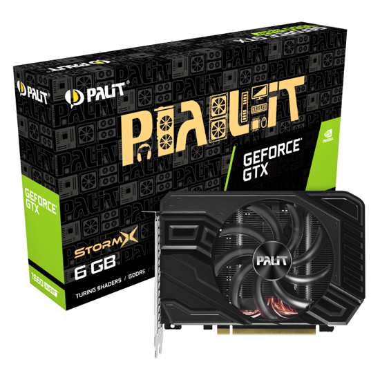 Palit GeForce GTX 1660 SUPER 6GB StormX NE6166S018J9-161F