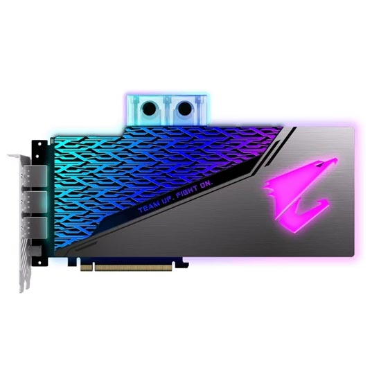 GIGABYTE AORUS GeForce RTX 2080 SUPER PCI-E 3.0 8192MB 256 bit WATERFORCE WB