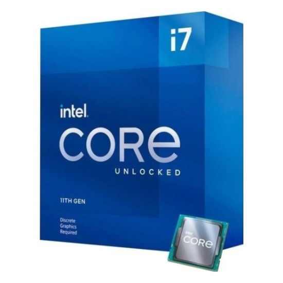 Intel Core i7-11700K, Rocket Lake, LGA1200, BOX