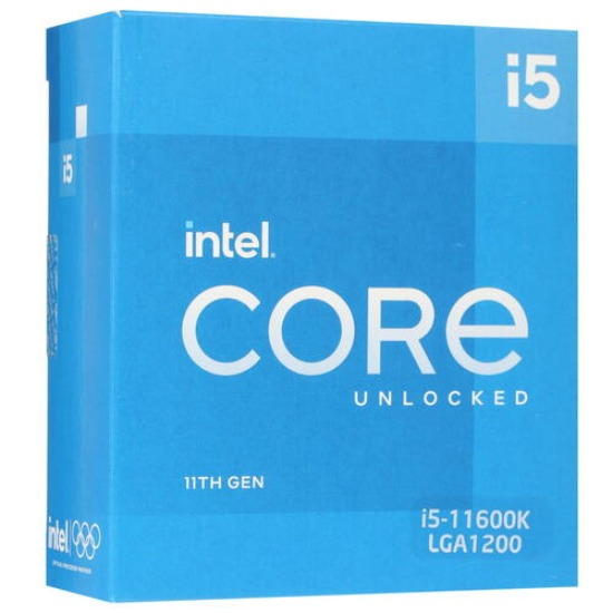 Intel Core i5-11600K, Rocket Lake, LGA1200, BOX