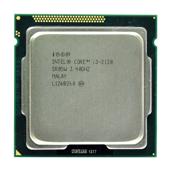 Intel Core i3-2130 Sandy Bridge 3400MHz, LGA1155, L3 3072Kb OEM