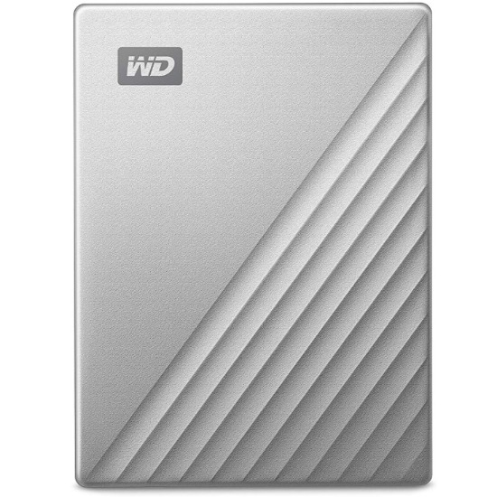 Western Digital 2Tb My Passport ultra silver for Mac WDBKYJ0020BSL