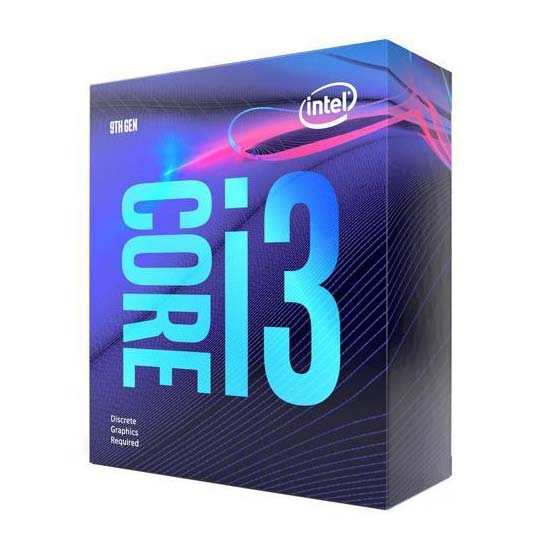 Intel Core i3-9100F Coffee Lake 3600MHz, LGA1151 v2, BOX